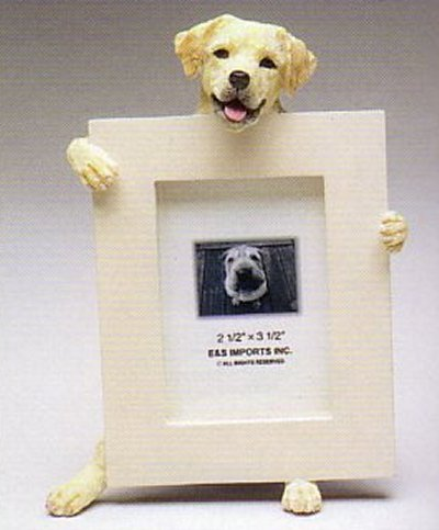 "Labrador, Yellow - Dog Photo Frame 2 1/2"" x 3 1/2"""