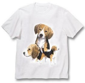 Beagle - T Shirt - Best Friends