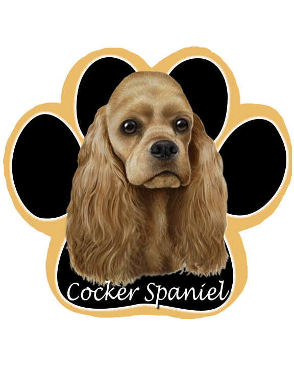 Cocker Spaniel, Buff - Computer Mousepad